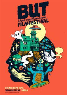 BUT Festival - Maarten Donders - artwork & illustration