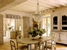 the table, the doors, the textures...............