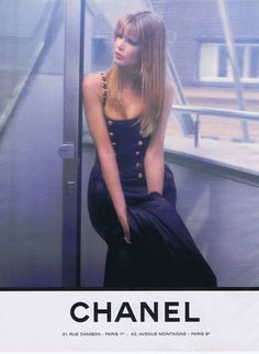 Publicite Advertising 114 1993 Chanel Avec Claudia Schiffer 4 151114 | eBay