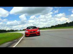 2013 BMW M6 Drifting and Smoking tires