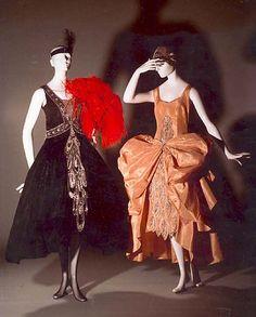 Evening dress Eldridge Manning    Date: 1927–29 Culture: American Medium: silk, plastic, glass. Foto