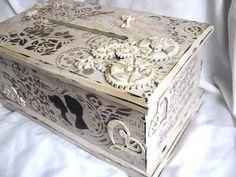 Decorative Boxes, Weeding, Wedding Ideas, Vintage, Design, Home Decor, Grass, Decoration Home, Weed Control
