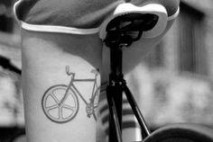 Bike tattoo via Tattoologist