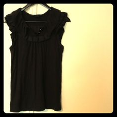 MARC by Marc Jacobs Ruffle top Cute cotton black ruffle top. It's size small. Marc by Marc Jacobs. Marc by Marc Jacobs Tops