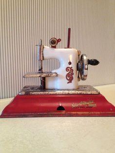 Vintage Sew O Matic Senior Toy Sewing Machine