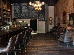 Find the city's best craft cocktail bars
