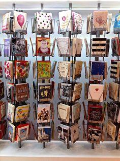 Greeting card display rack in red oak pinterest card displays our greeting card display m4hsunfo