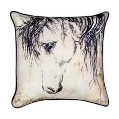 Manual Woodworkers and Weavers SLWM28 Wild Mane Ii Printed Pillow Vibrant Colors 18 X 18 inch Walmart