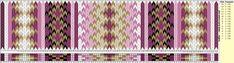 Nye+beltemønster+til+beltestakk. Card Weaving, Weaving Art, Loom Weaving, Inkle Weaving Patterns, Inkle Loom, Willow Weaving, Weaving Projects, Fiber Art, Projects To Try