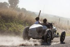 Bugatti Type 35 in action !