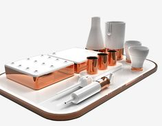 Most recently,Fakhry and Corcoran went on an exploration of food, molecular gastronomy and eating experiences with their Eating Objects tableware set.