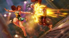 street fighter V screenshot Street Fighter 5, Street Fighter Characters, Chun Li, Game Effect, Pose Reference Photo, Action Poses, Fighting Games, Art File, Disney Drawings
