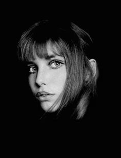 Jane Birkin // black and white photography