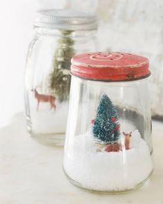 Fluxi On Tour: HOLLY JOLLY CHRISTMAS :: DIY SNOW GLOBES