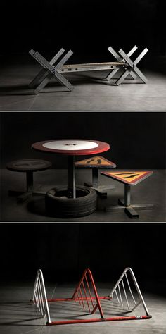 http://www.basurillas.org/page/4/ Guerrilla Bank Street Furniture