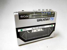 ソニー SONY ウォークマン WALKMAN TV SOUND WM-F55 10旭37_画像1