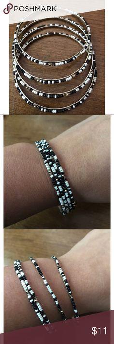 4 piece Bangle Set ➰ 4 piece Bangle Set ➰ Jewelry Bracelets