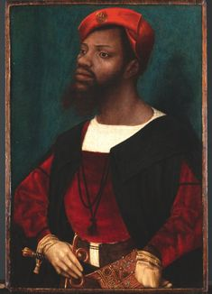 """Other Africans who inhabited the court include John Blanke, the """"blacke trumpeter"""", who was employed by Henry VII and Henry VIII from 1506–1..."""