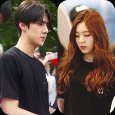 "@baesehun_ohirene's photo: ""Baebae is wearing black  #sehun #irene #ohsehun #baejoohyun  #exovelvet #hunrene #serene #beautiful #handsome #exok #exom #kpop #KPOPCOUPLE #korea #2015 #exo #kara #bts #snsd #redvelvet #shinee #got7"""