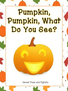 Fun, fall-themed book to use with your kids! I use it to practice articulation, syllables, teach fall vocabulary, colors, and answer/ask WH-questions.  Vocabulary includes:-pumpkin-apple-leaf-scarecrow-turkey-acorn-rake-pumpkin pieEnjoy! :)*****************************************************************************Check out my other Fall products:Fall Preposition BingoFall Following Directions Cards & Coloring SheetsFall No Prep Speech & Language Activities***************************...