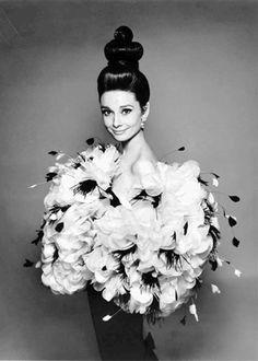 Rare Audrey Hepburn — Audrey Hepburn photographed in Paris, France by Richard Avedon