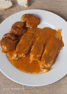 Cuinant: Raya al Pimentón con Patatas al Vapor