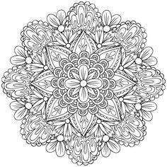 Coloriez des mandalas - Créapassions