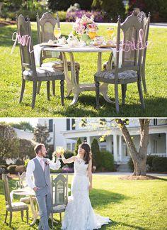 Charming Southern Tea Party Wedding Shoot