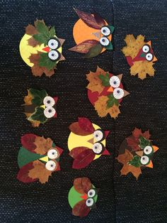 Autumn owl - N. - - Fall Crafts For Kids Crafts To Sell, Fun Crafts, Diy And Crafts, Arts And Crafts, Paper Crafts, Fall Crafts For Toddlers, Easy Fall Crafts, Diy For Kids, Fall Preschool