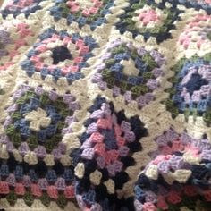 Gorgeous Granny Square Crib Blanket Granny Square Crochet Pattern, Crochet Granny, Hand Crochet, Crochet Patterns, Gorgeous Grannies, Crib Blanket, Soft Colors, Cribs, Baby Shower Gifts