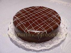 Mandlovo-čokoládový dort