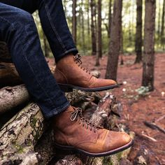 Men's Burnt Copper Vanguard Lace-Up Boot - Thursday Boot Company Shoes With Jeans, Dress With Boots, Jeans And Boots, Mens Boots Fashion, Sneakers Fashion, Copper Shoes, Shoe Boots, Men's Boots, Leather Boots