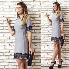 WEBSTA @ arianecanovas - Cinza Preto @lovlity Combinação que amo pro inverno! ❤️