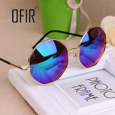 d47828c4a90 Fashion 2016 Sunglasses Women Men Brand Design Vintage Round Sun Glasses  Girl UV400 Female Fishing Eyewear