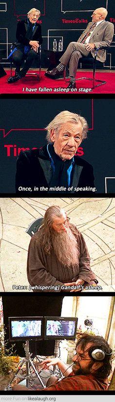 Gandalf the Sleepy