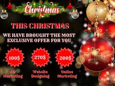 Hurry Up...🎯  Only two more days left in our Christmas 🎅Sale!🎉 Email Now: 📩 Info@nuevosys.com Christmas Offers, Christmas Sale, Christmas Bulbs, Online Marketing, Digital Marketing, Sale Emails, Christmas Light Bulbs
