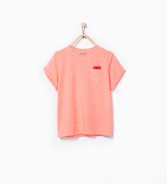 WASHED ORGANIC COTTON T-SHIRT WITH POCKETS