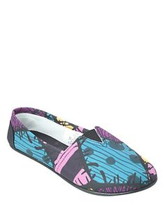 The Nightmare Before Christmas Sally Slip-On Shoes,
