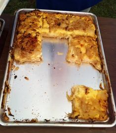 """pagach --""""potato cheese pizza"""" another family reunion food (Czech)"""
