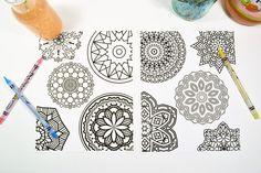 Free Mandala Printable Coloring Pages