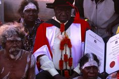 Galarrwuy Yunupingu receives a doctorate