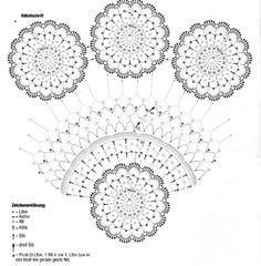 Interesting ideas for decor: Crochet doily.