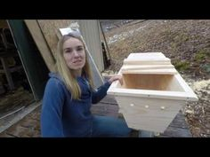 New and Improved Top Bar Hive! part 1 Introduction Mel Bee, Top Bar Bee Hive, New Beehive, Wood Bees, Beehive Design, Bee Hive Plans, Hives And Honey, Beekeeping Equipment, Raising Bees