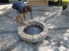 Hometalk :: How to Build A Firepit