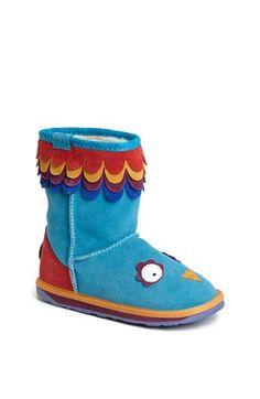 EMU Australia 'Little Creatures - Parrot' Boot (Toddler, Little Kid & Big Kid)