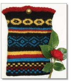 Nook Cover: Fair Isle Knit Pattern | Debbie Macomber