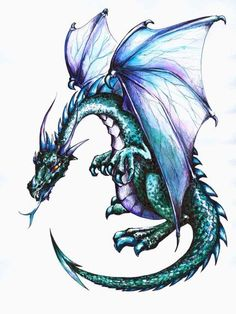 """Dragon - 12""""H x 9""""W - Peel and Stick Wall Decal by Wallmonkeys by Wallmonkeys Wall Decals, http://www.amazon.com/dp/B007K3ZF14/ref=cm_sw_r_pi_dp_cRDdsb08A9ME2"""