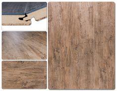 $2.99 Vesdura Vinyl Planks - 9.5mm HDF Click Lock - Matterhorn Collection Fawn