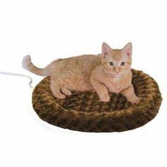Amazon.com: Thermo Kitty Fashion Splash Heated Cat Mat, Mocha: Pet Supplies