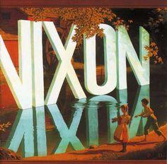 Wayne White's cover for Lambchop's Nixon Had the... - Austin Kleon